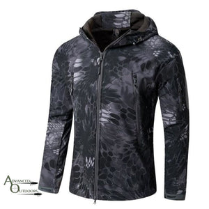 Big Game Hunting Jacket - Kryptek Black / S