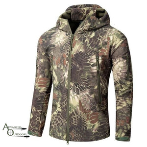Big Game Hunting Jacket - Kryptek Woodland / S