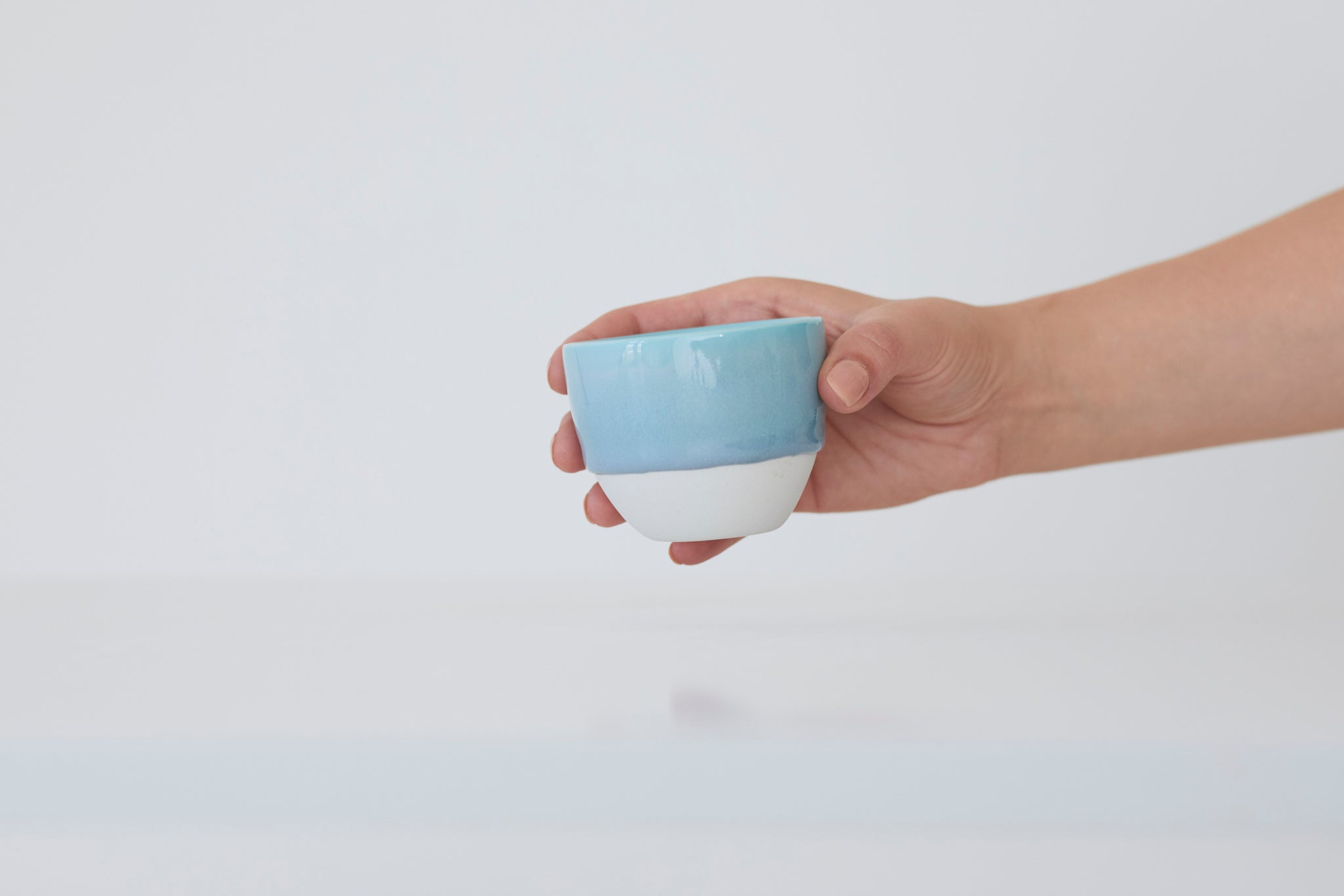 Simple cups 3xturquoise