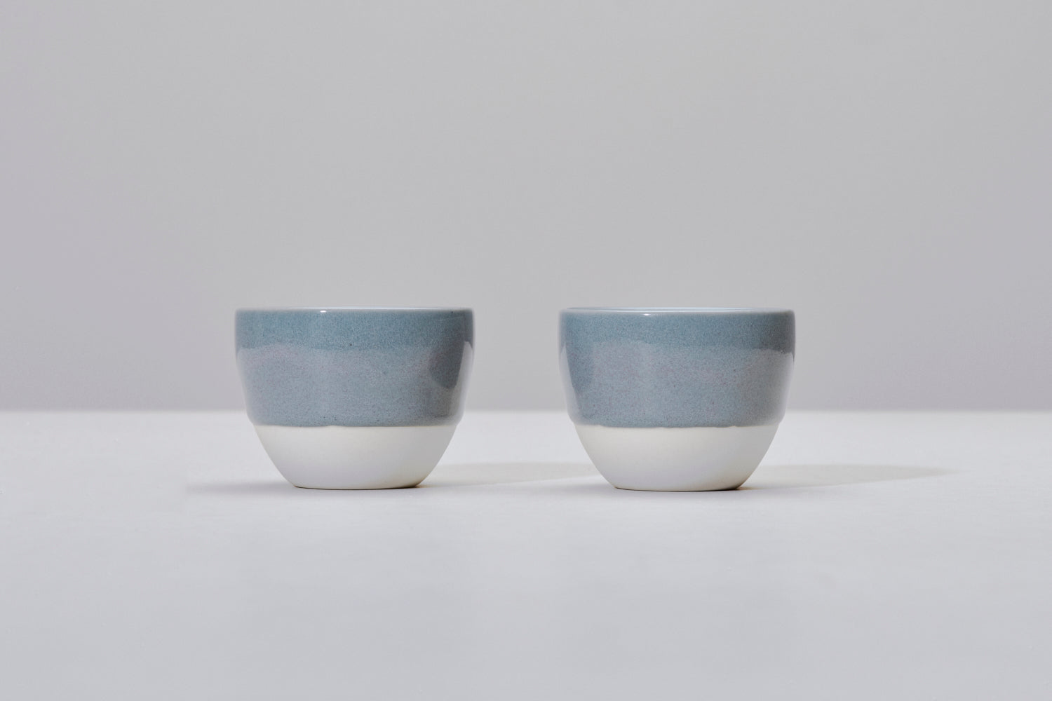 Simple gray cup