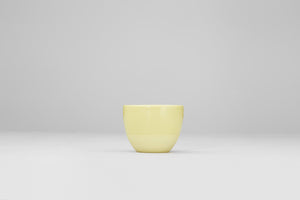 Simple yellow cup