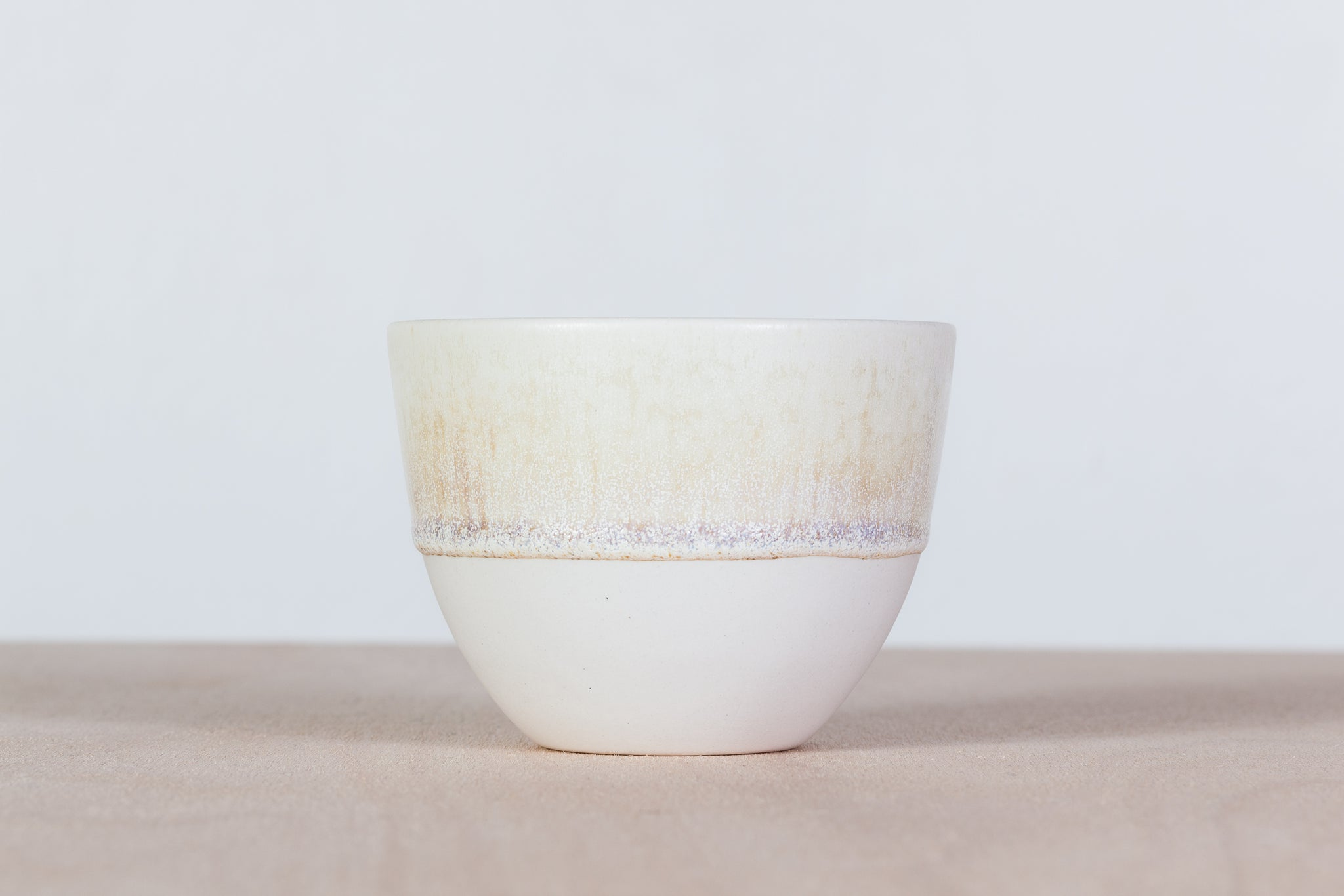 Simple cup with miracle glaze