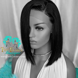 12 Inch Bob - Glueless Lace Front Wig