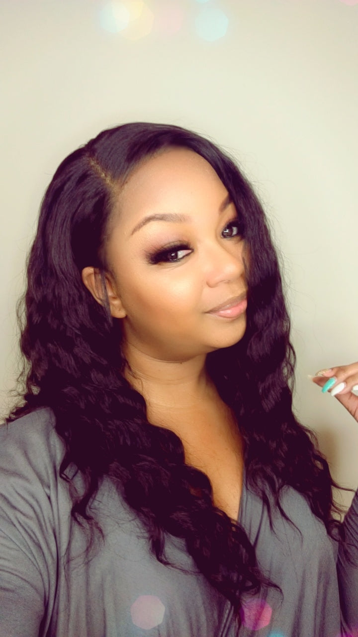 Kirstyn - Glueless Lace Front Wig with Cashmere Waves