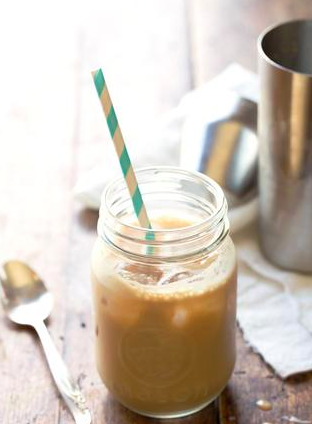 Caramel-Mocha Shake using Keto Meal