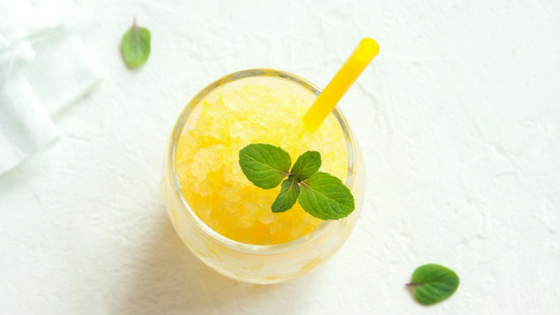 Lemon-Lime Keto Slushie