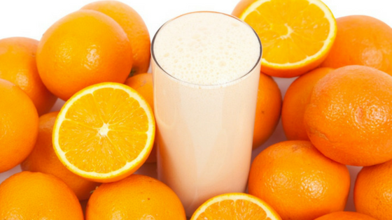 Keto Orange Creamsicle Smoothie