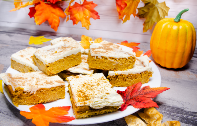 Pumpkin Pie Bars 🥧