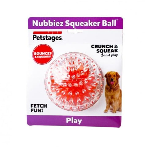Petstages Nubbiez Squeaker Dog Toy