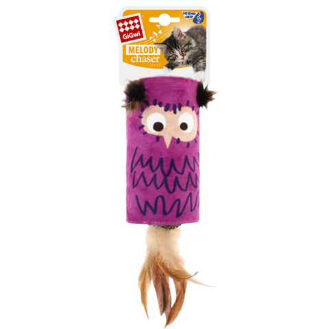 GiGwi Melody Owl Cat Toy