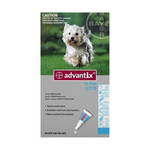 Advantix  Dogs 4-10kg Tick & Flea Spot-On Treatment