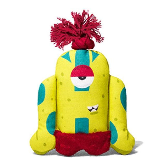 Alien Flex Canvas Biggoe Dog Toy