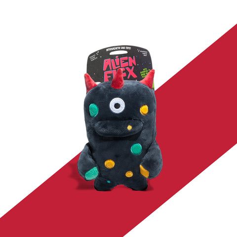 Alien Flex Plush Ghim Dog Toy