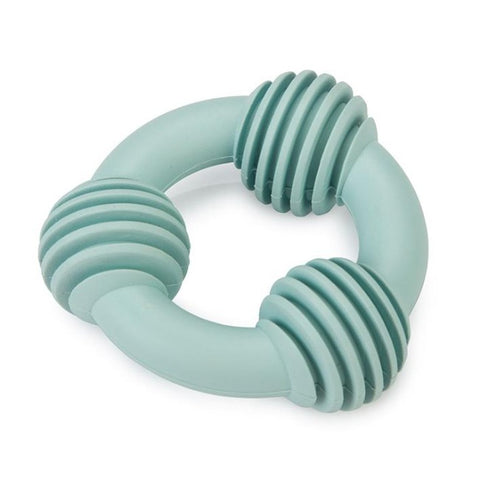 Beeztee Dental Ring Puppy Toy -  Blue