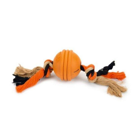 Beeztee Fit Ball Dog Toy - Orange