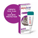Bravecto Large Cat 6.25-12.5kg Spot On Tick & Flea