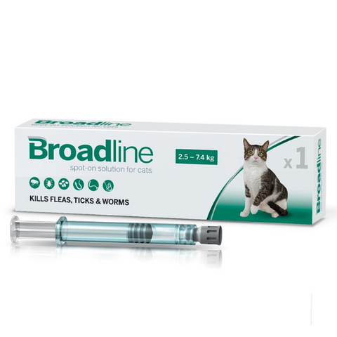 Broadline Spectrum Solution For Medium Cats 2.5-7.5kg