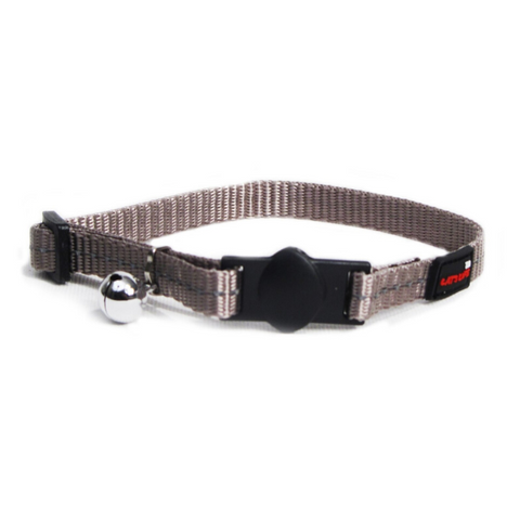 Cat's Life Grey Reflective Collar