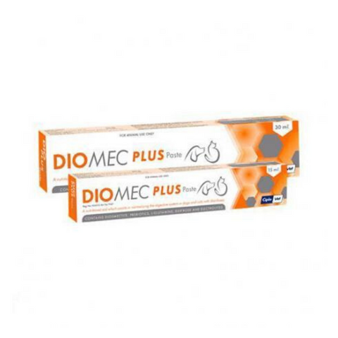 Diomec Plus Dog & Cat Diarrhea Supplement Paste