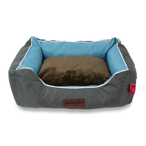 Dog's Life Country Dog Bed - Olive