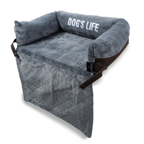 Dog's Life Explorer Dog Bed - Brown