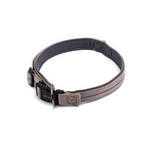 Dog's Life Grey Reflective Supersoft Padded Webbing Neoprene Collar