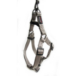 Dog's Life Grey Reflective Supersoft Webbing Step-In Harness
