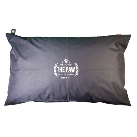 Dog's Life Harper Dog Cushion - Black