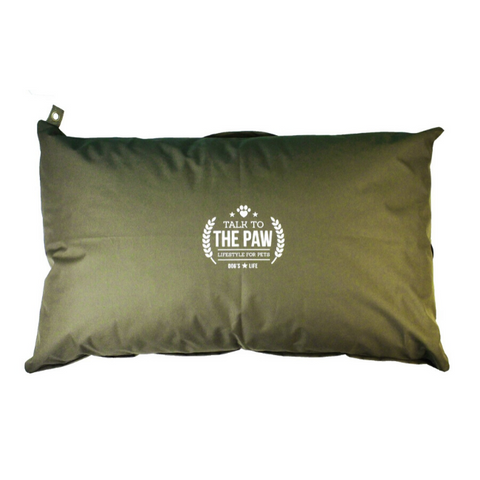 Dog's Life Harper Dog Cushion - Green