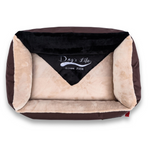 Dog's Life Lounger Dog Bed - Brown