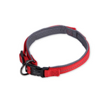 Dog's Life Red Reflective Supersoft Padded Webbing Neoprene Collar