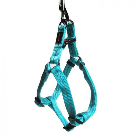Dog's Life Blue Reflective Supersoft Webbing Step-In Harness