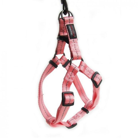 Dog's Life Pink Reflective Supersoft Webbing Step-In Harness