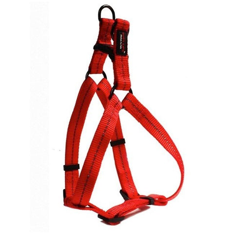 Dog's Life Red Reflective Supersoft Webbing Step-In Harness