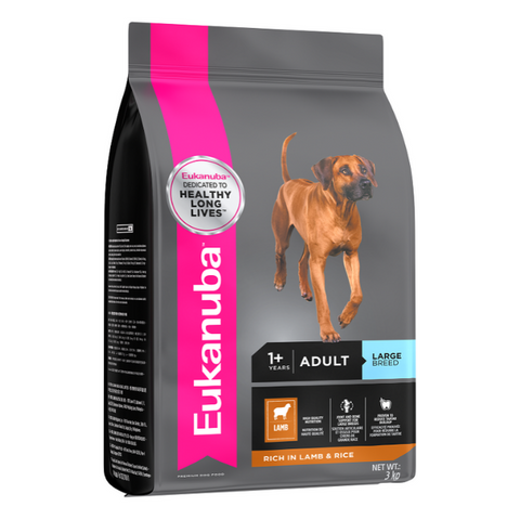 Eukanuba Adult Large Breed Lamb & Rice Dog Food