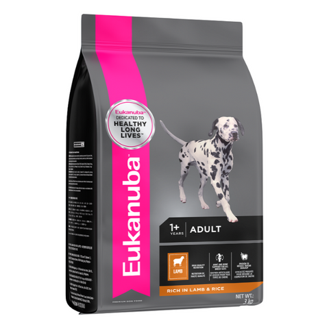 Eukanuba Adult Small & Medium Breed Lamb & Rice Dog Food