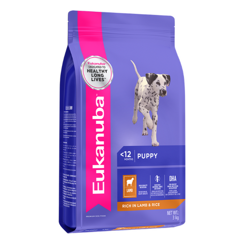 Eukanuba Puppy Small & Medium Breed Lamb & Rice Dog Food