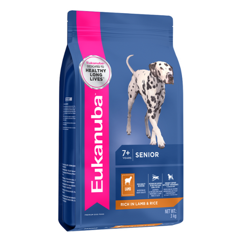 Eukanuba Senior All Breed Lamb & Rice Dog Food