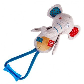 GiGwi Friendz Elephant Stick Dog Toy