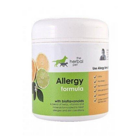 Herbal Pet Dog & Cat Allergy Formula