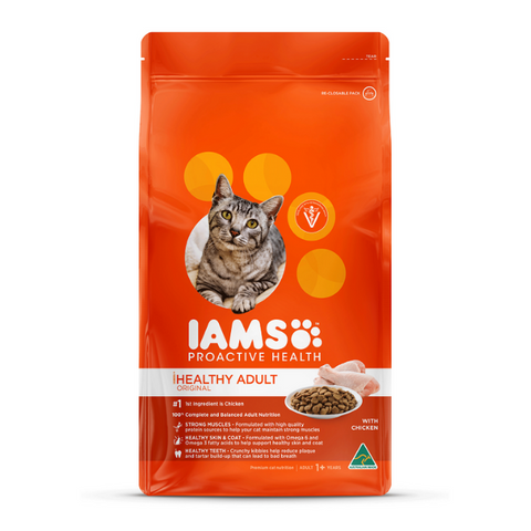 Iams Healthy Adult Original with Chicken Cat Food