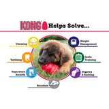 KONG Pink Puppy Treat Dog Toy