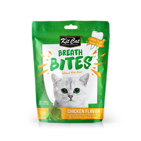 Kit Cat Breath Bites Chicken Cat Treats