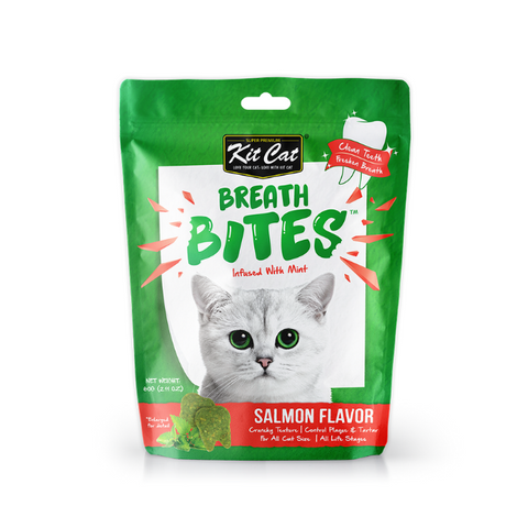 Kit Cat Breath Bites Salmon Cat Treats