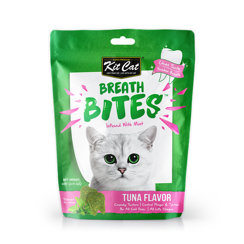 Kit Cat Breath Bites Tuna Cat Treats