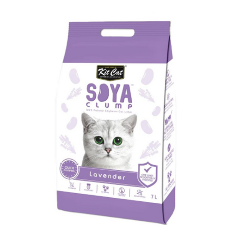 Kit Cat Lavender Soya Clump Cat Litter