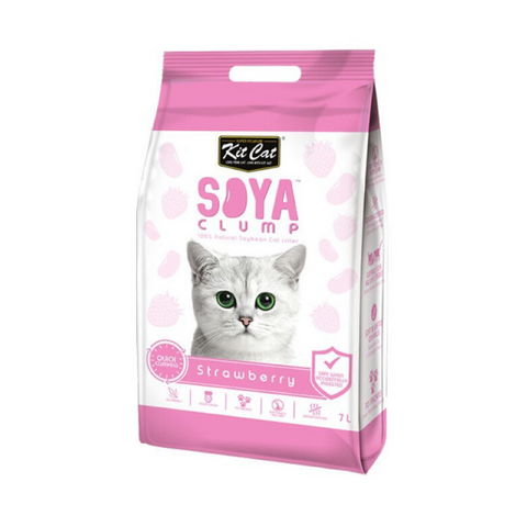 Kit Cat Strawberry Soya Clump Cat Litter