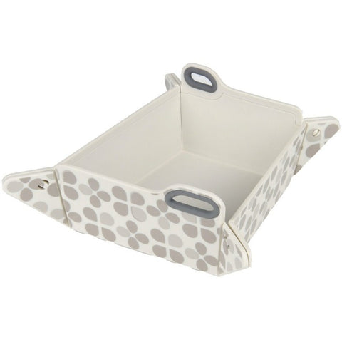 L'Chic Chop2Bowl Dog Bowl - Gray