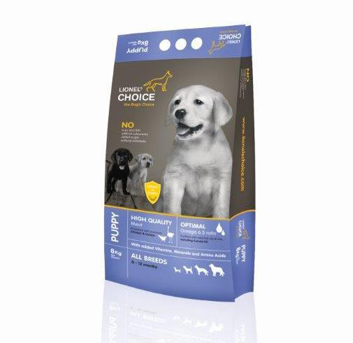 Lionel's Choice Ostrich Puppy & Adult Dog Food