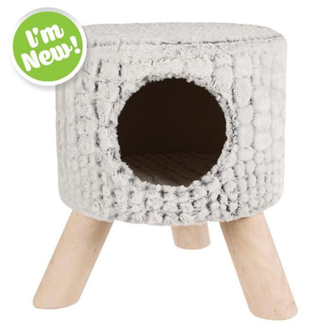 M-Pets Snake Suede Cat Bed